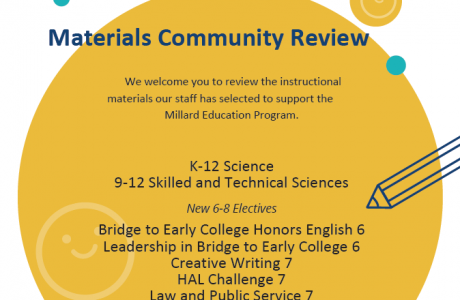 Materials Review Poster